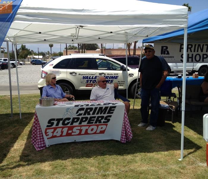 Indio city Block Party- Valley Crimestoppers