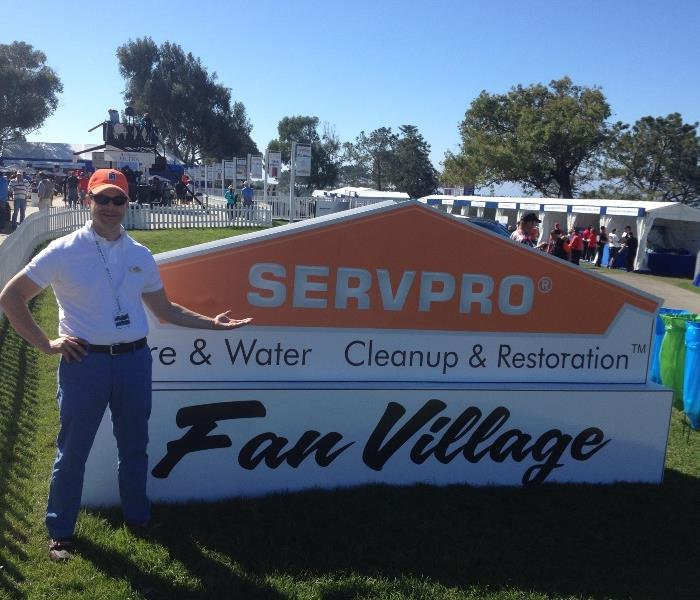 SERVPRO at The Farmers Golf Tourney