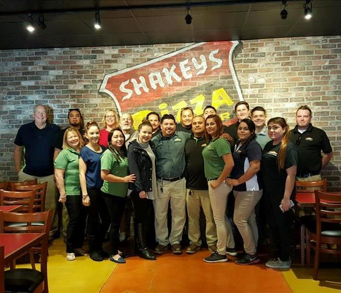 Team Building Day at Shakey's Pizza