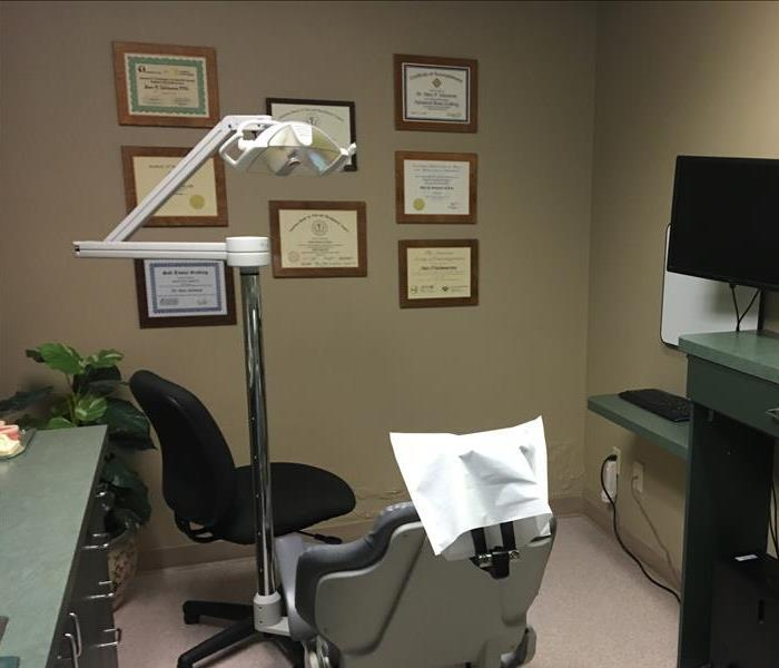 Commercial Water Damage at the Oral Surgeons office